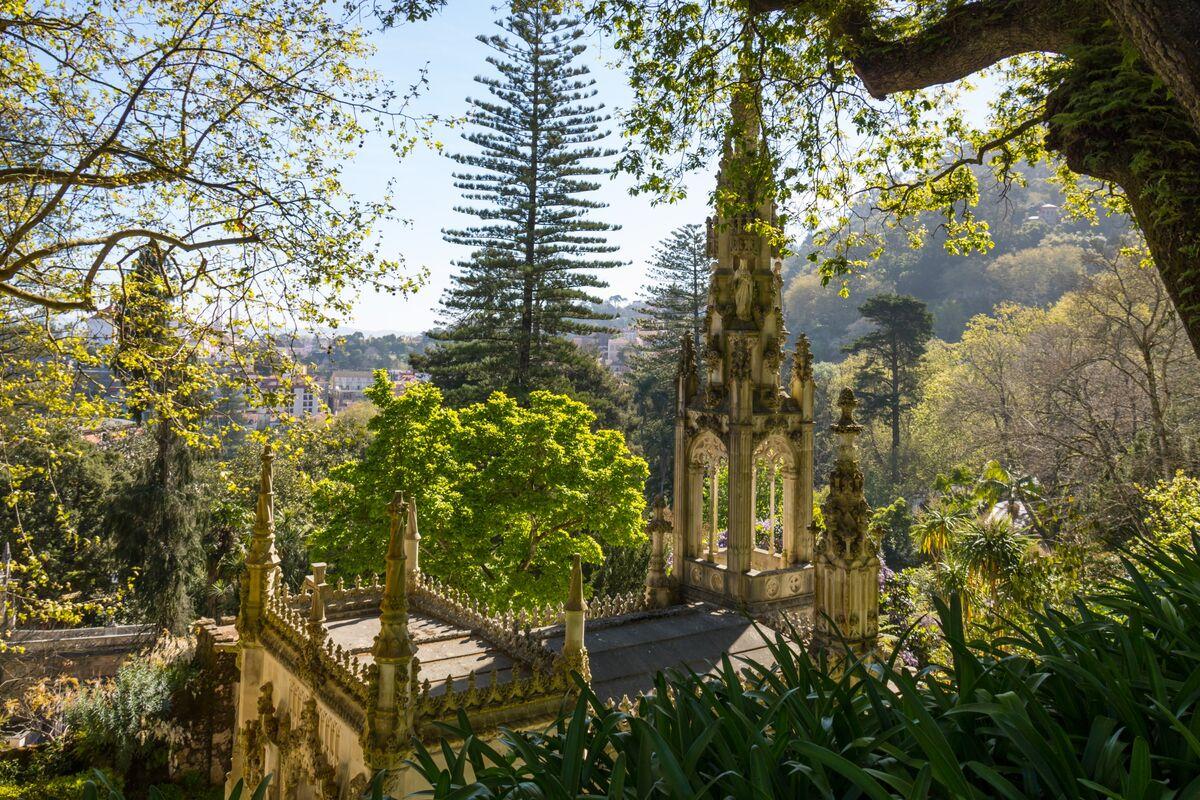 The Regaleira Chapel, Sintra, Portugal, 2017. Photo by Susanne Nilsson, via Flickr.