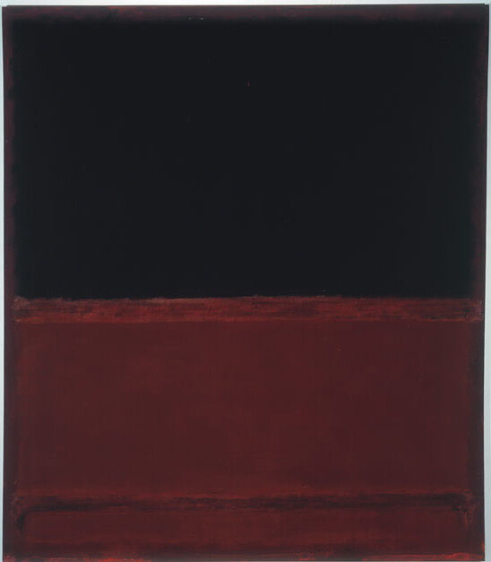 Mark Rothko, No. 22 (Untitled), 1961. © 1998 Kate Rothko Prizel & Christopher Rothko / Artists Rights Society (ARS), New York. Photo courtesy of The Mark Rothko Foundation and Pace Gallery.