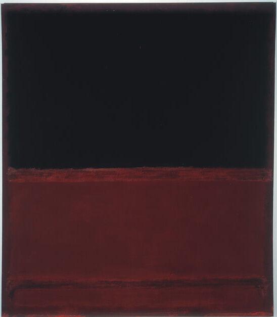 Mark Rothko, No. 22 (Untitled), 1961. © 1998 Kate Rothko Prizel & Christopher Rothko / Artists Rights Society (ARS), New York. Photo courtesy of The Mark Rothko Foundation and Pace Gallery.