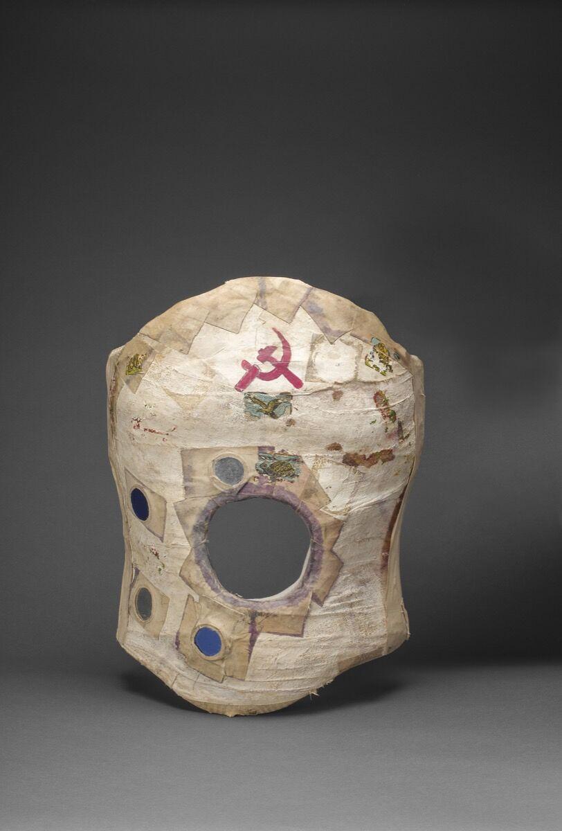 "Frida Kahlo's corset. Courtesy of the Victoria & Albert Museum, ""Frida Kahlo: Making Her Self Up,"" 16 June – 14 November 2018. Sponsored by Grosvenor Britain & Ireland."