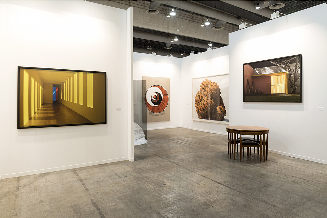 Installation view of Sean Kelly Gallery's booth at ZsONA MACO, 2017. Courtesy of Sean Kelly Gallery.