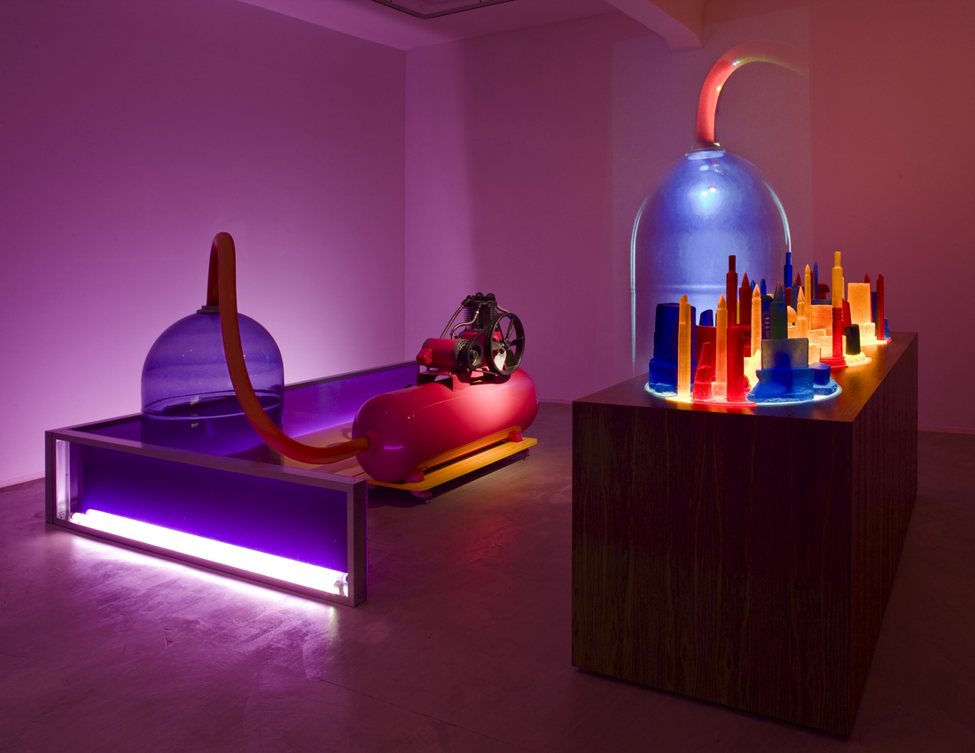 Mike Kelley, Kandor 4, 2007, part of Mike Kelley at Hauser & Wirth, New York, Sep. 10–Oct. 24, 2015. © Mike Kelley Foundation for the Arts. All Rights Reserved/Licensed by VAGA, New York NY. Courtesy the artist and Hauser & Wirth. Photo: Fredrik Nilsen