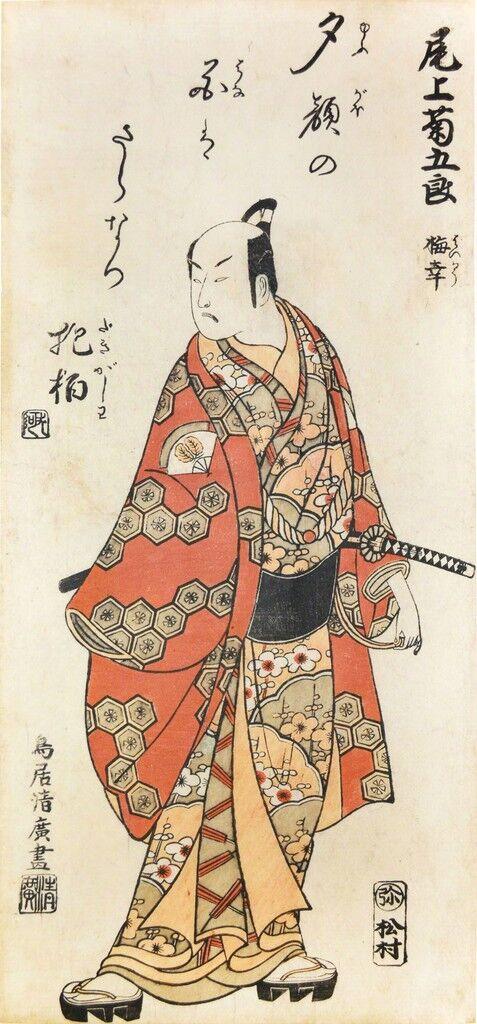 Kabuki Actor Onoe Kikugoro