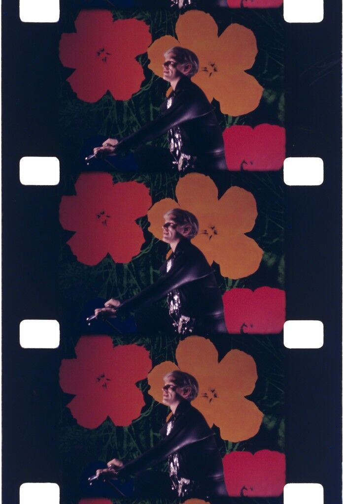 Andy Warhol at the Opening of his show, Whitney Museum, May 1, 1971