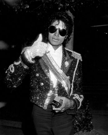 Michael Jackson, 26th Annual Grammy Awards After Party, L'Ermitage Hotel, Beverly Hills