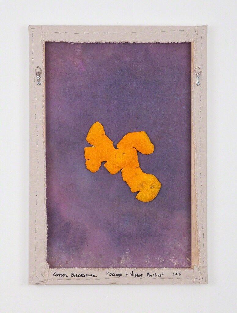 Orange + Violet Painting
