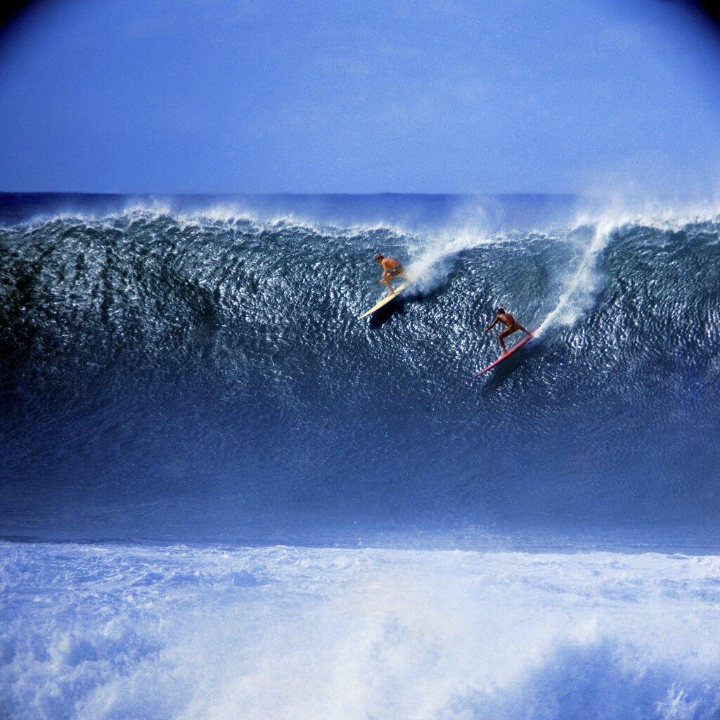 Rusty Miller and Tiger Espere, Waimea Bay (No. 101)