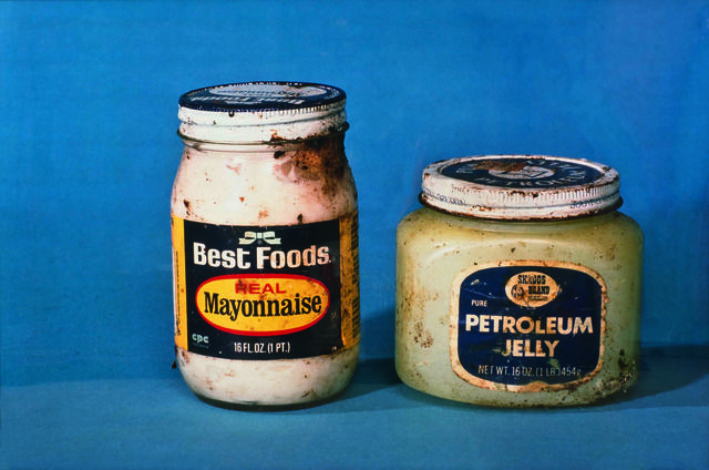 Untitled (from Propo-Series) (Mayonnaise, Petroleum Jelly)