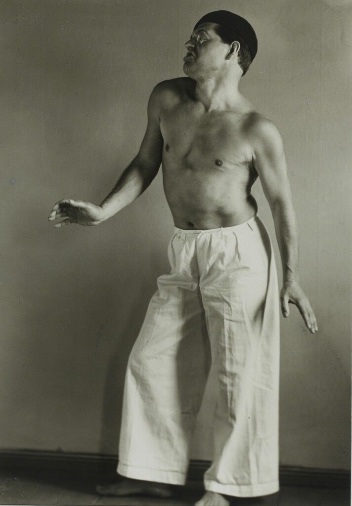 Raoul Hausmann as a Dancer
