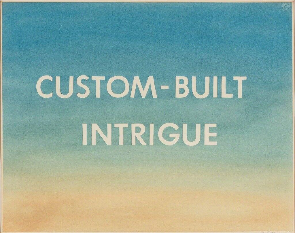 Custom-Built Intrigue