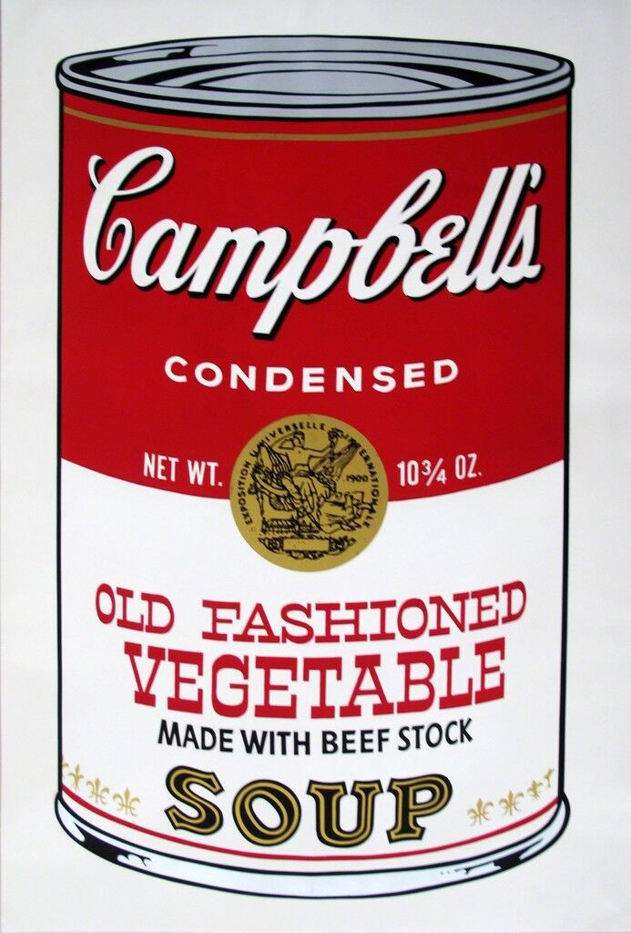 Campbell's Soup II: Old Fashioned Vegetable ( FS II.54)