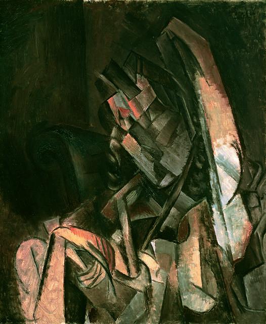 Femme assise dans un fauteuil (Woman Sitting in an Armchair)
