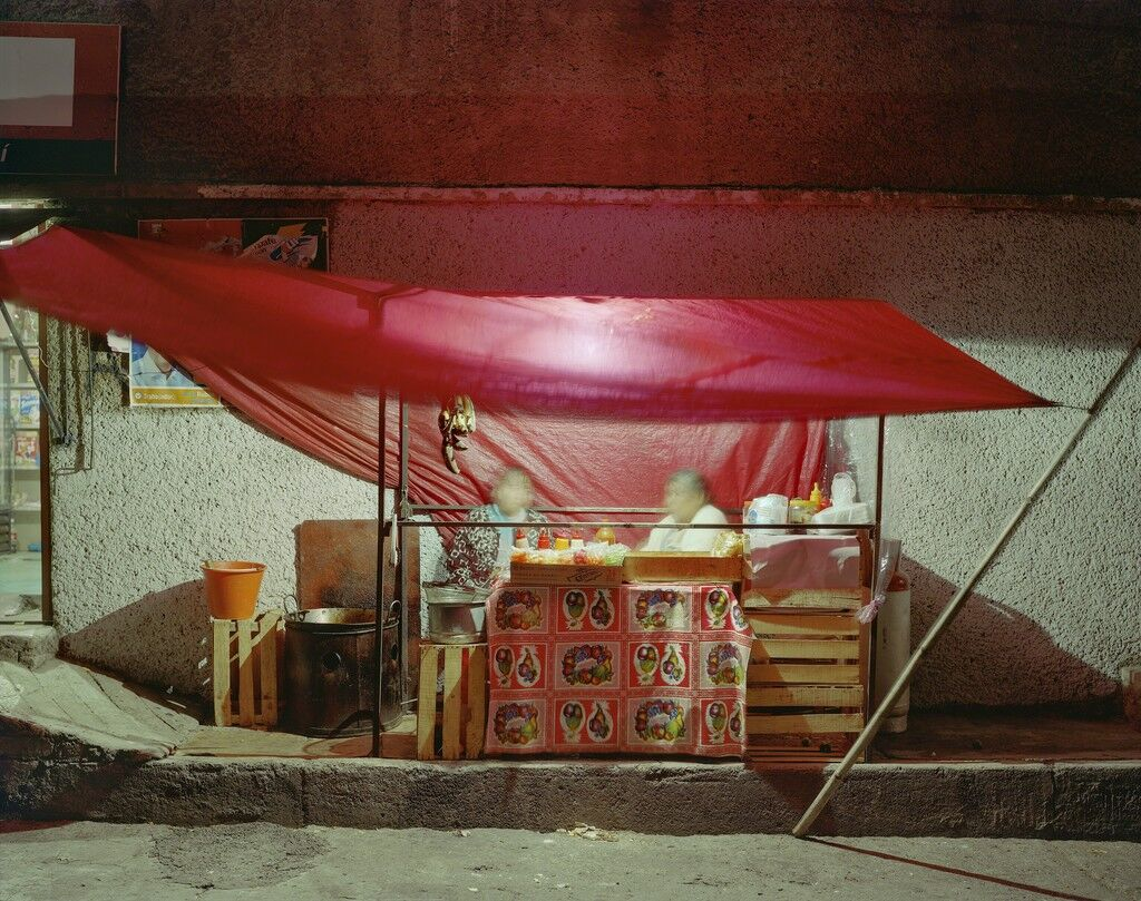 Small Tent Taco Stand, Independencia, Naucalpan, Mexico State, Mexico