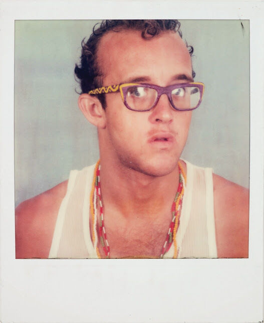 Keith Haring, self-portrait