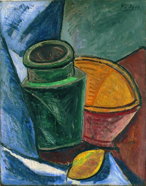 Cruche, bol et citron (Jug, Bowl, and Lemon)