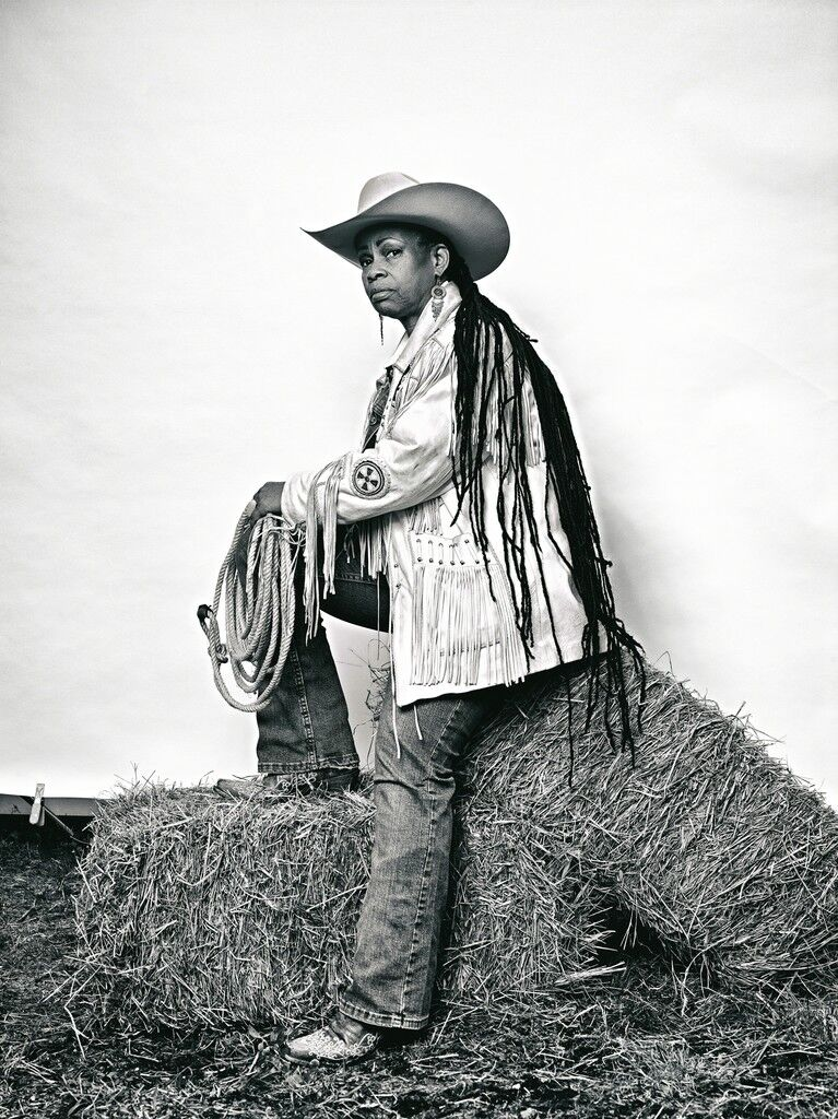 """Mama"" Kesha Morse from ""The Federation of Black Cowboys"" series for The Village Voice"