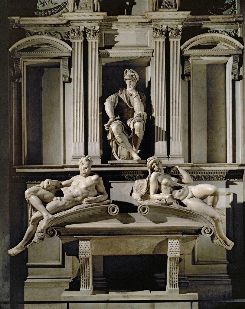 Tomb of Lorenzo de Medici, Duke of Urbino, with Dawn and Evening