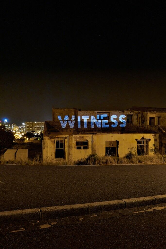 Witness: a site-specific intervention