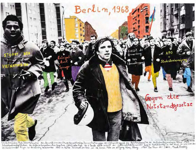 "From the series ""1968, the fire of the ideas"", Berlín, 1968"