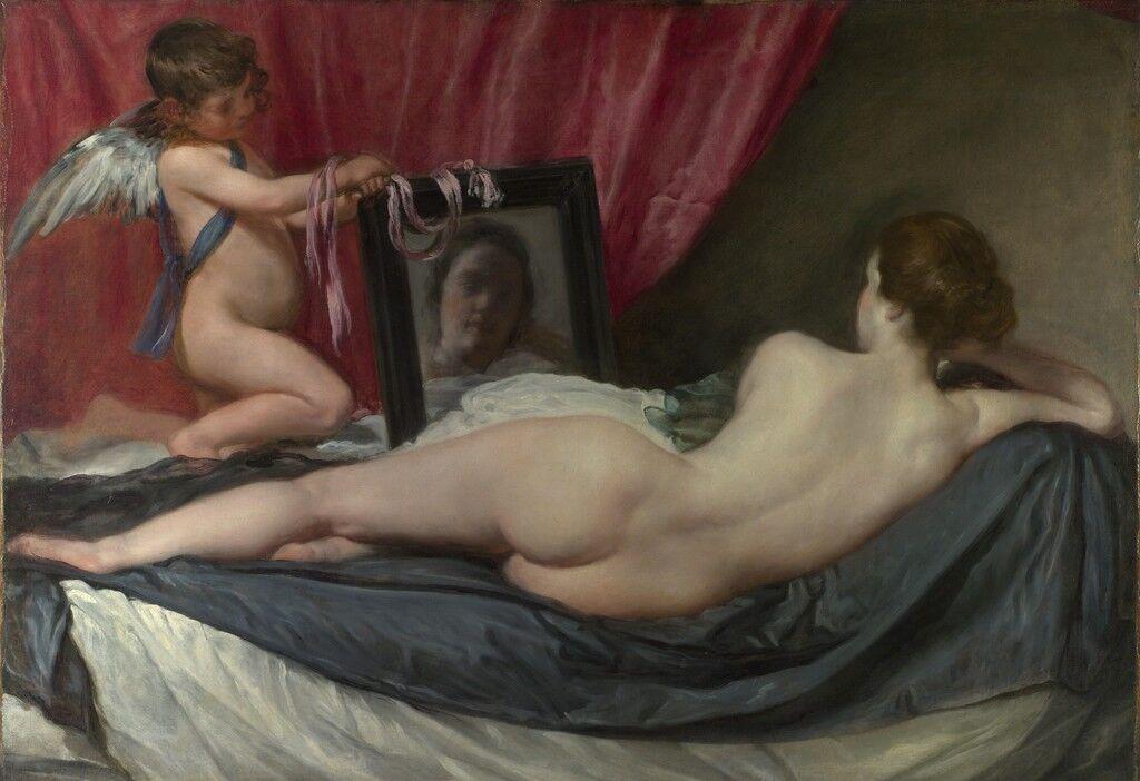 The Toilet of Venus (The Rokeby Venus)