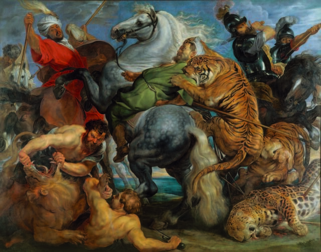 Tiger, Lion and Leopard Hunt