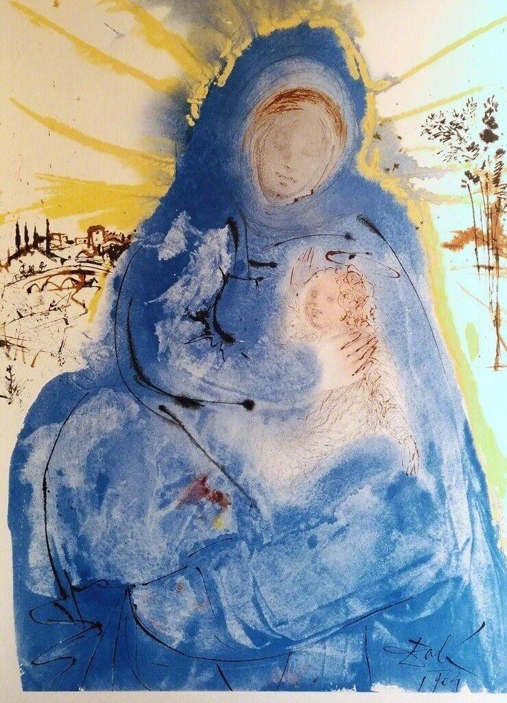 "Maria conferens in corde suo - From ""Biblia Sacra"""