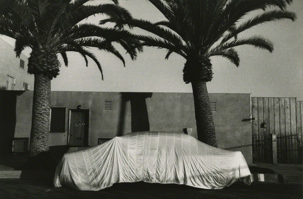Covered Car--Long Beach, California