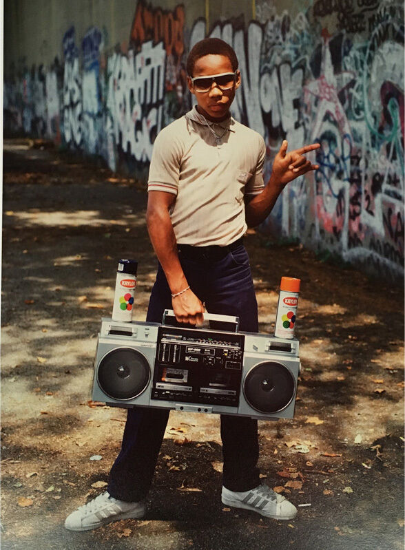 Little Crazy Legs with boom box, 2/15