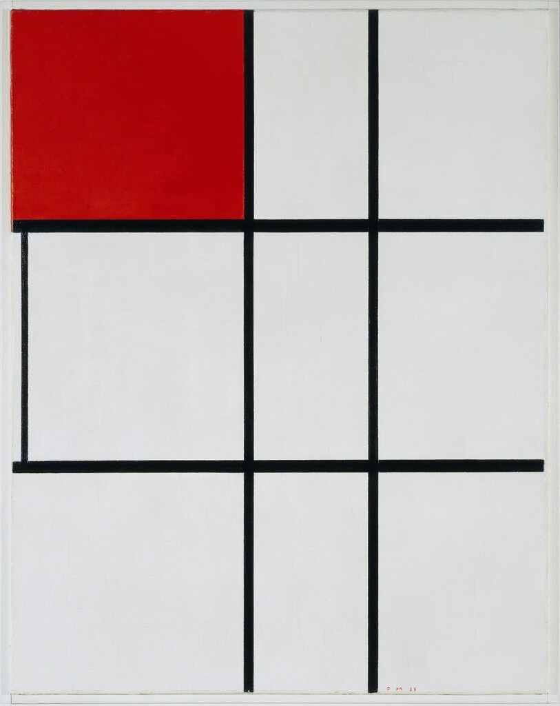 Composition B (No.II) with Red