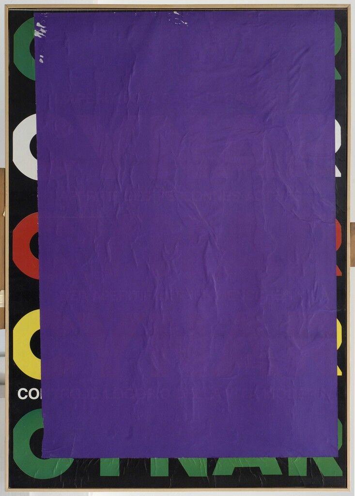 Blank C blue violet