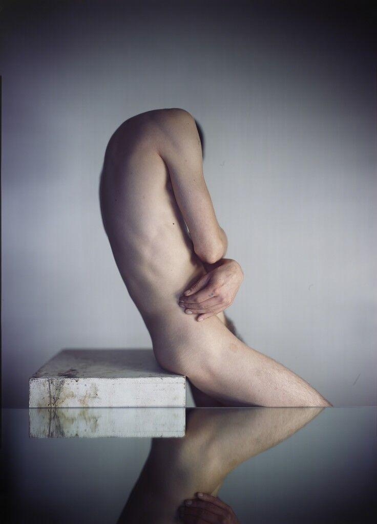 Headless Man with Mirror