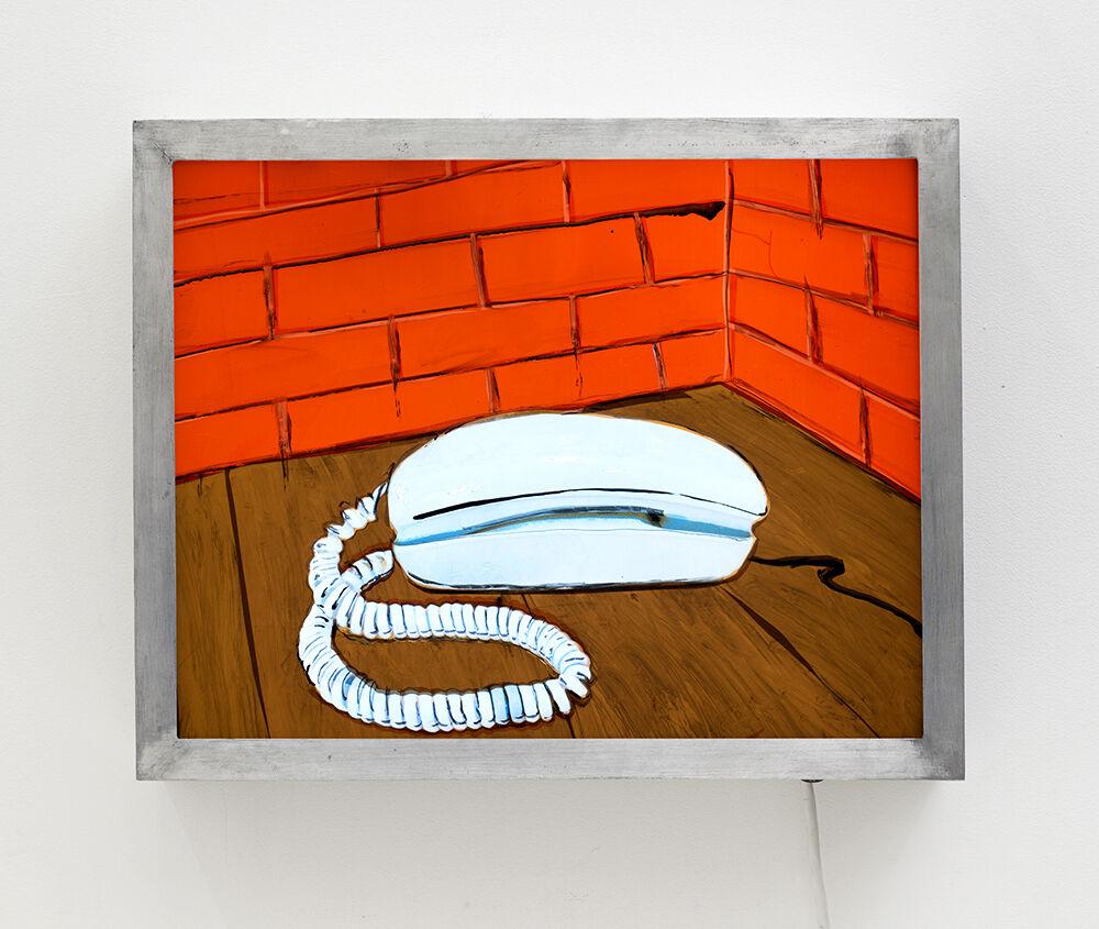 Aqua Blue Princess Telephone