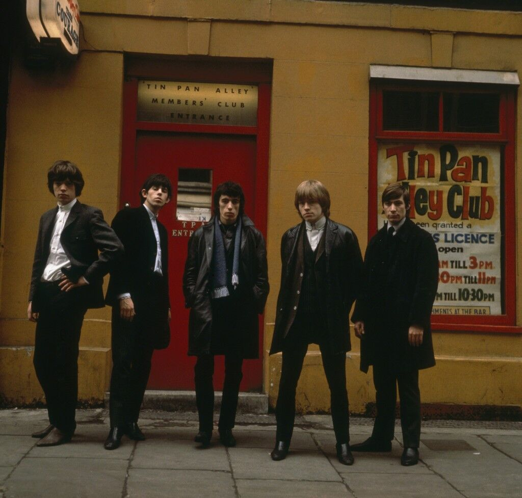 The Rolling Stones Tin Pan Alley, London