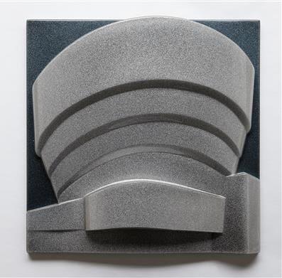 The Solomon R Guggenheim(Metalflake and Silver/Gunmetal)