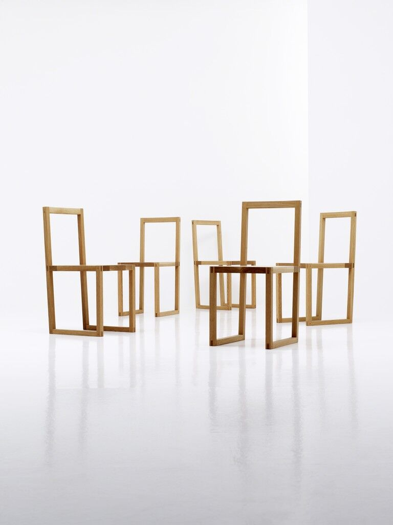 White Oak Chair Series