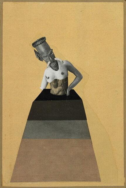 Ohne Titel, aus der Serie: aus einem ethnographischen Museum (Untitled, from the series: From an Ethnographic Museum)