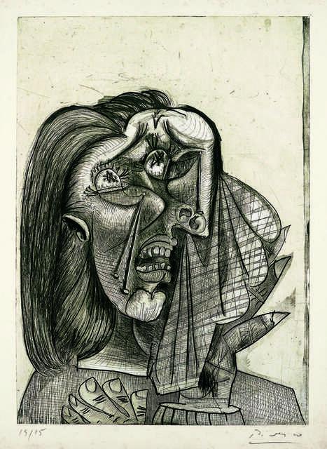La femme qui pleure I (Weeping Woman I)