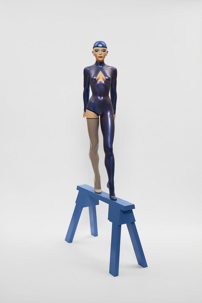 The Blue Gymnast