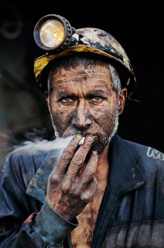 Smoking Coal Miner, Pol-e-Khomri, Afghanistan