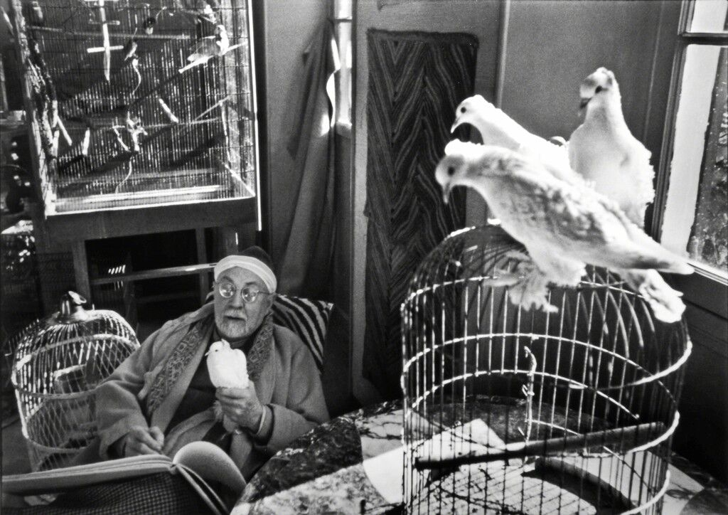 Henri Matisse at his Home, 'Le Reve', Vence, France