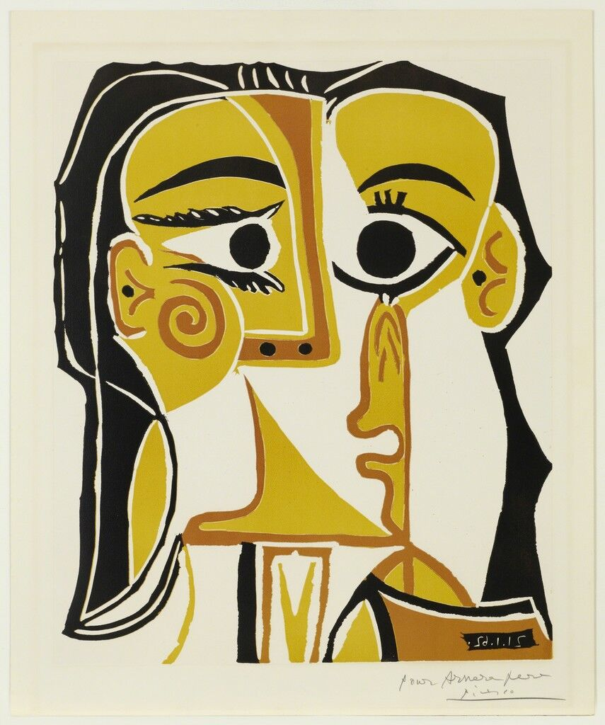 Portrait stylisé de Jacqueline