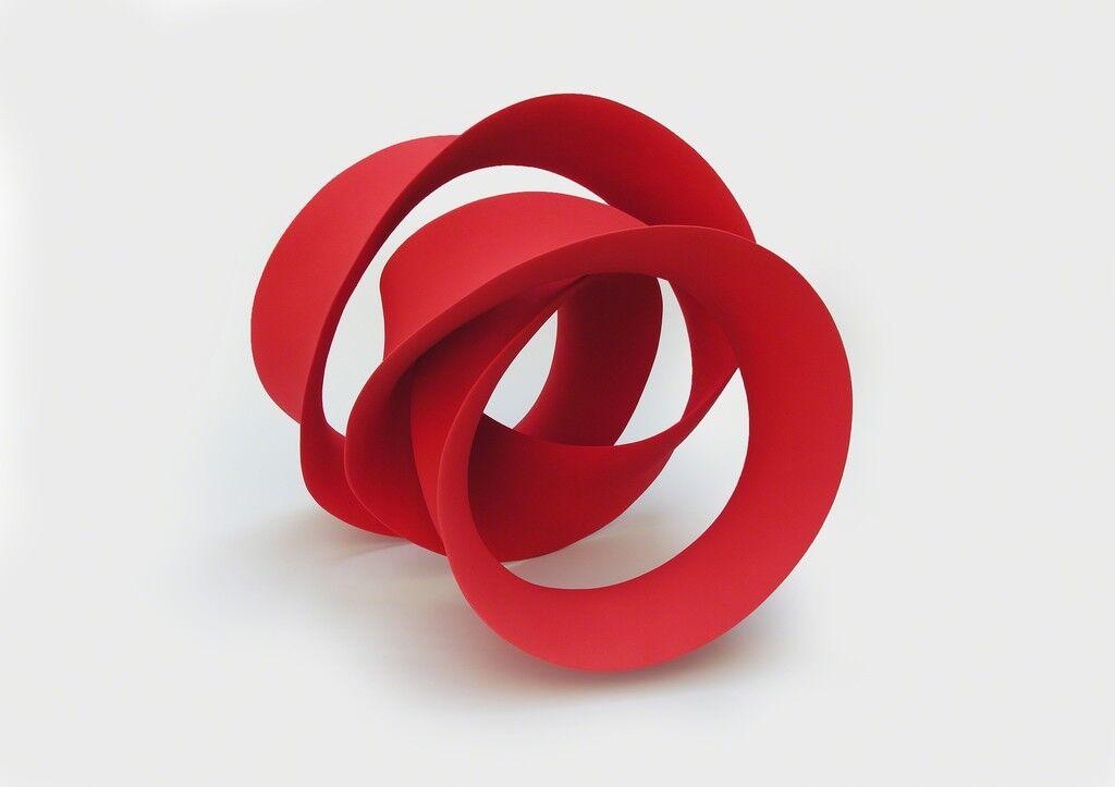 Red Triple Twisted Loop