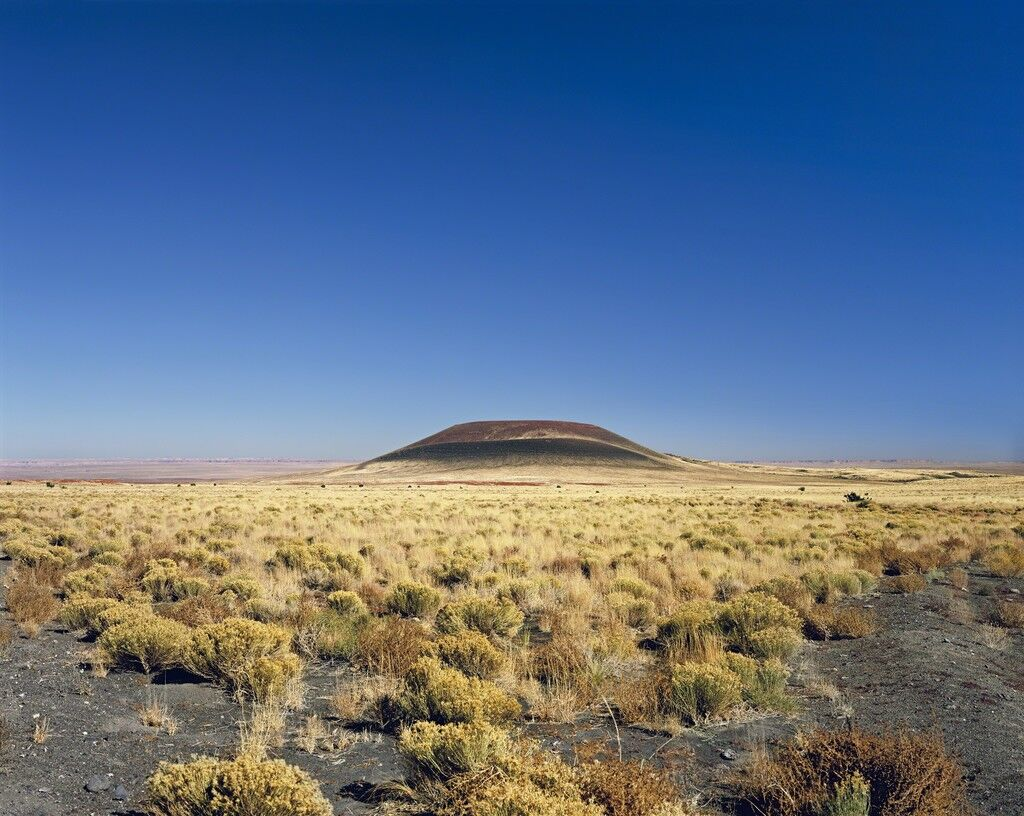 Roden Crater (blue sky)