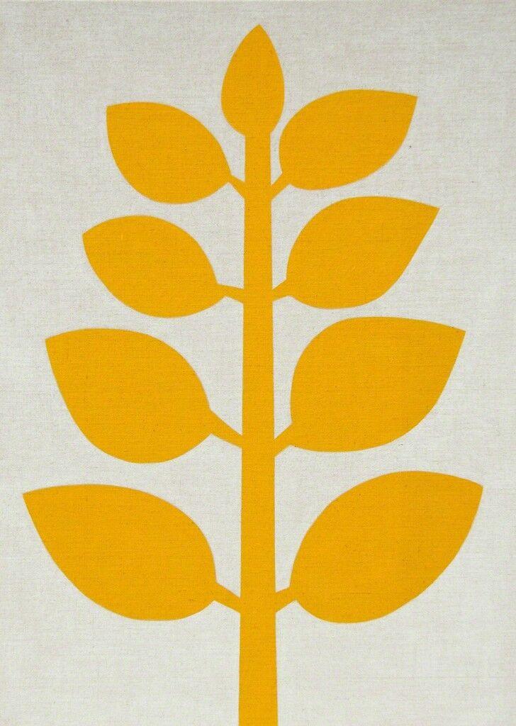 Yellow Plant (Light) #1