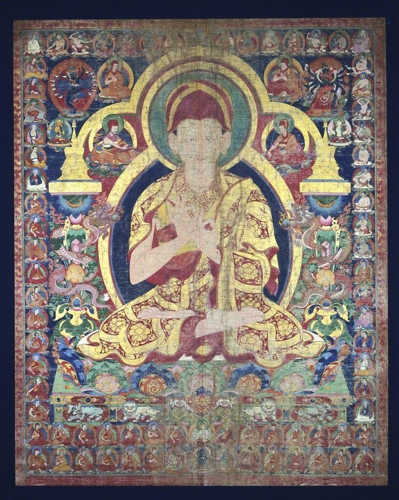 Sonam Gyaltsen with Sakya Order Teaching Lineages