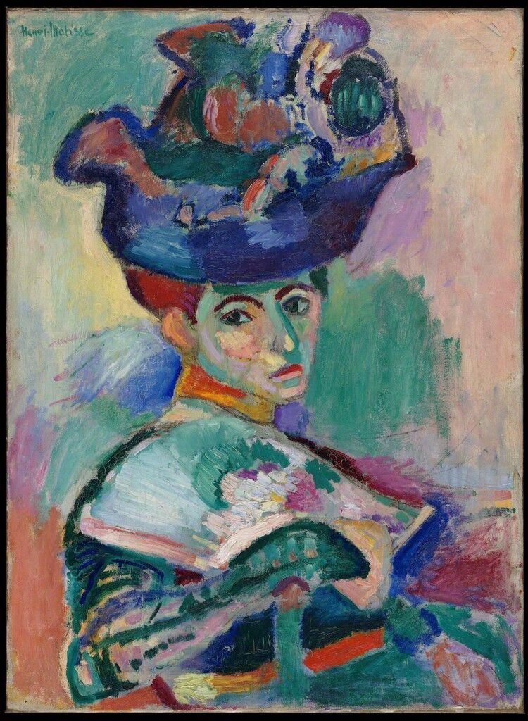 Femme au chapeau (Woman with a Hat)