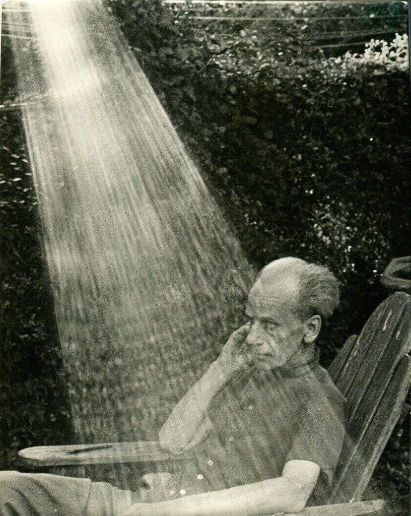 Joseph Cornell at Home in New York