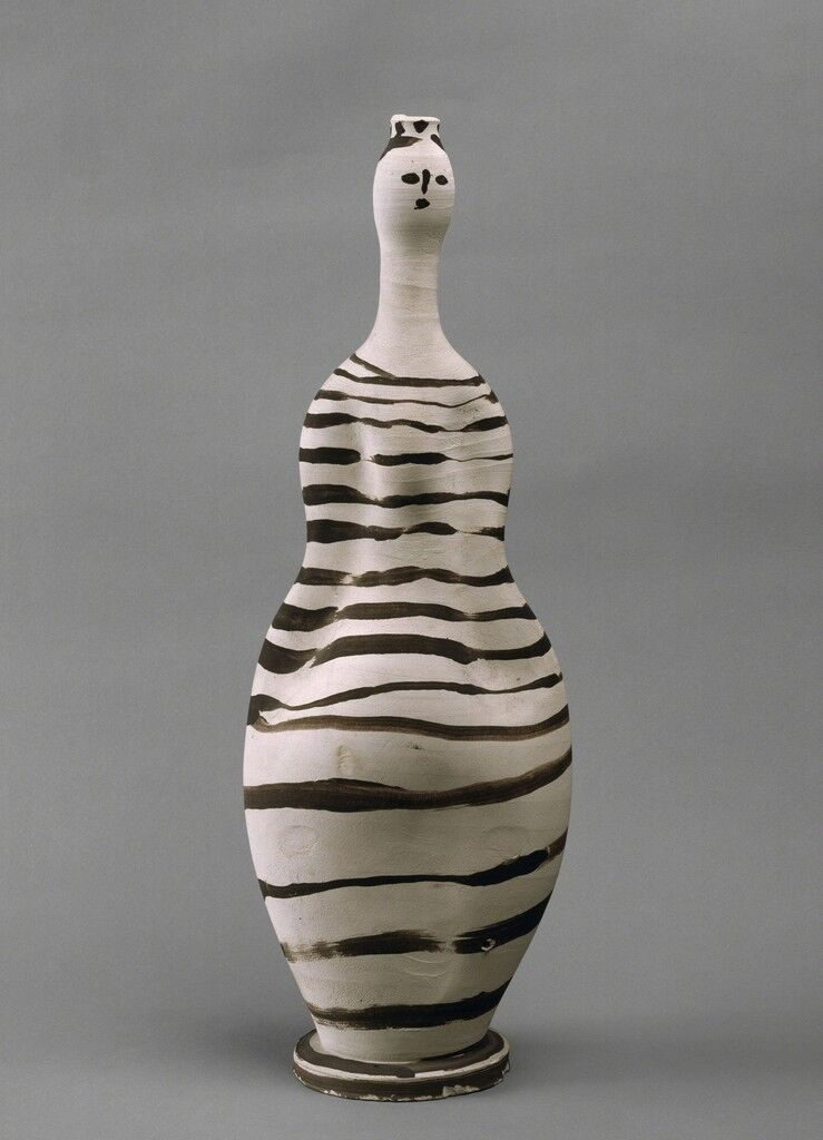 Vase: Woman
