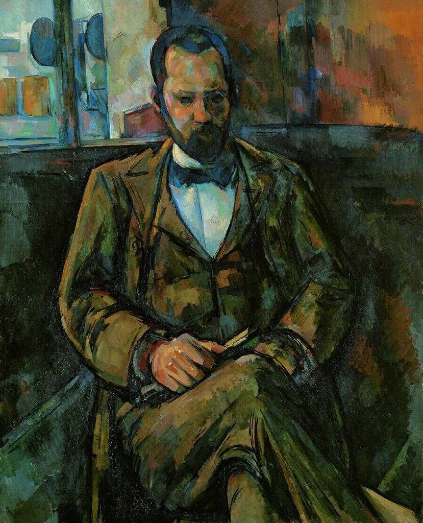 Portrait de M.Ambroise Vollard,the art dealer (1865-1939)