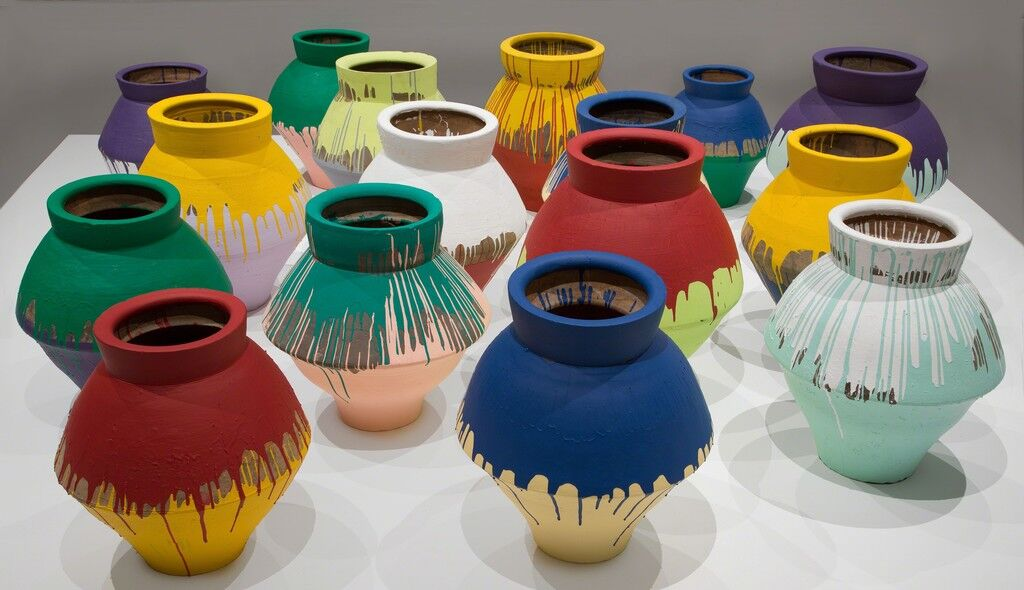 Colored Vases (detail)